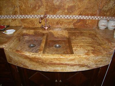 Lavelli e top cucina - Lavandini in marmo per cucina ...